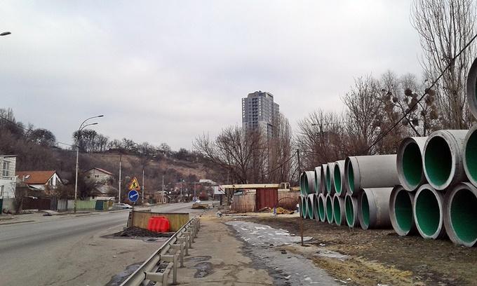 ЖК Совские пруды гора и крематорий по соседству