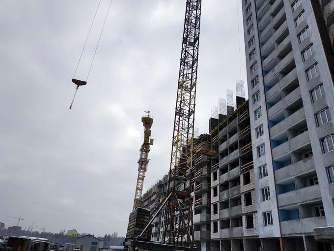 ЖК Одесский бульвар в Новоселках ход строительства