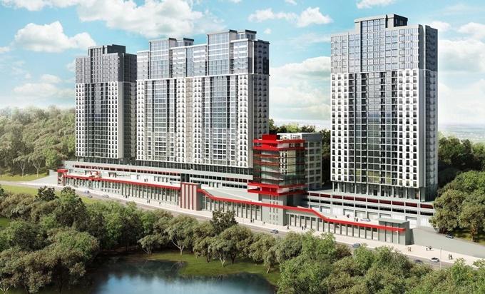 ЖК Совские пруды визуализация нового проекта