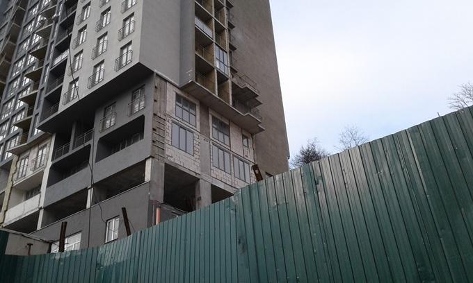 ЖК Совские пруды ход строительства четвертой секции