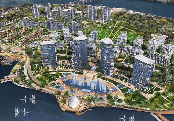 Проекты новостроек ЖК Липки Айлэнд Сити резорт