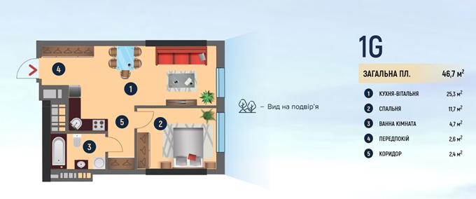 ЖК Салют от буд девелопмент планировк однокомнатной квартиры