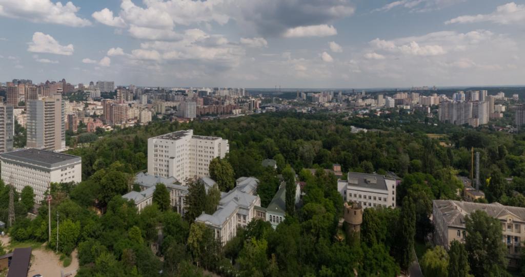 ЖК Турбийон Протасов Яр виды из окон