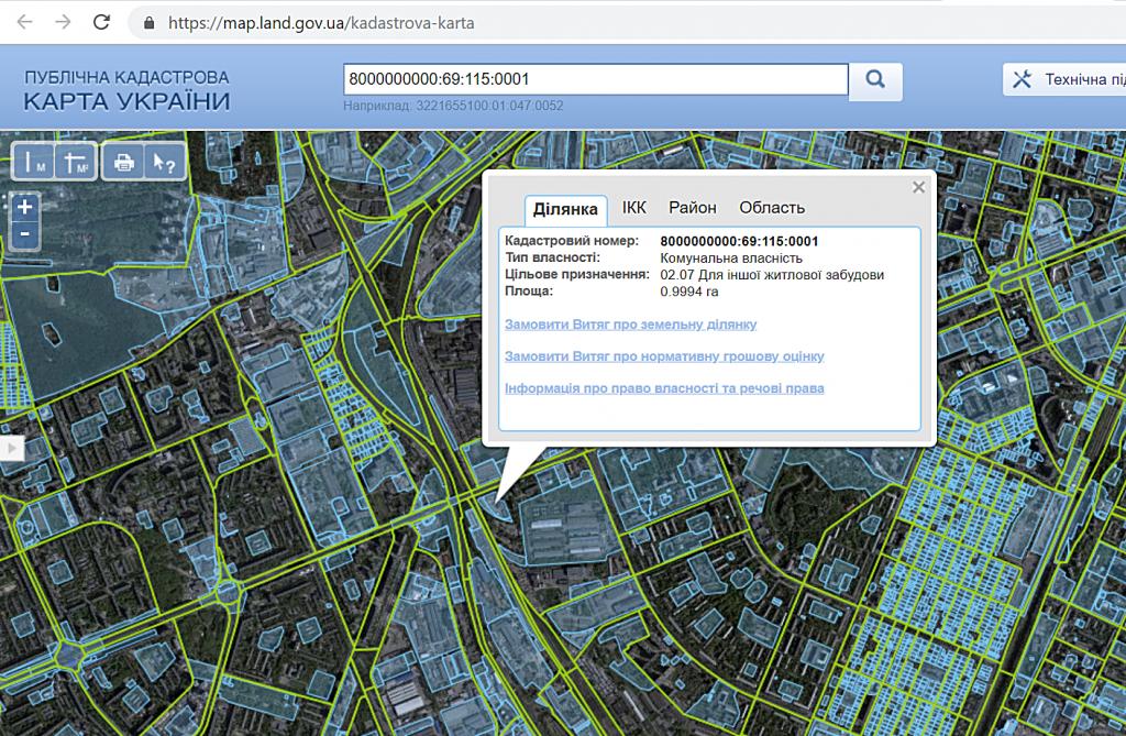ЖК Современный квартал кадастровая карта