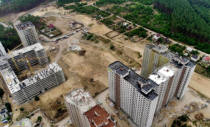 Детальные планы территорий Ирпень частная и многоквартирная застройки