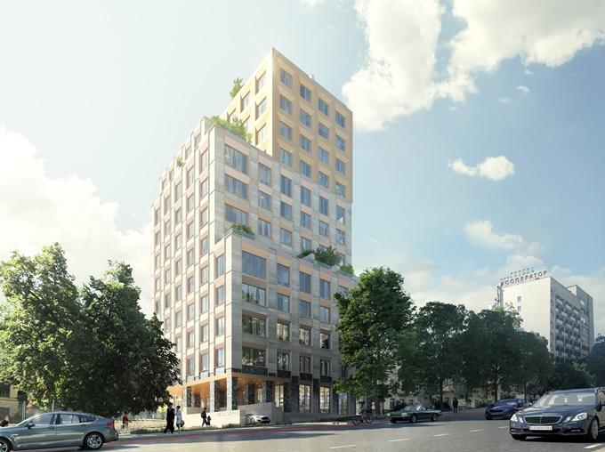 ЖК Киева с террасами ЖК Резидент концепт хаус