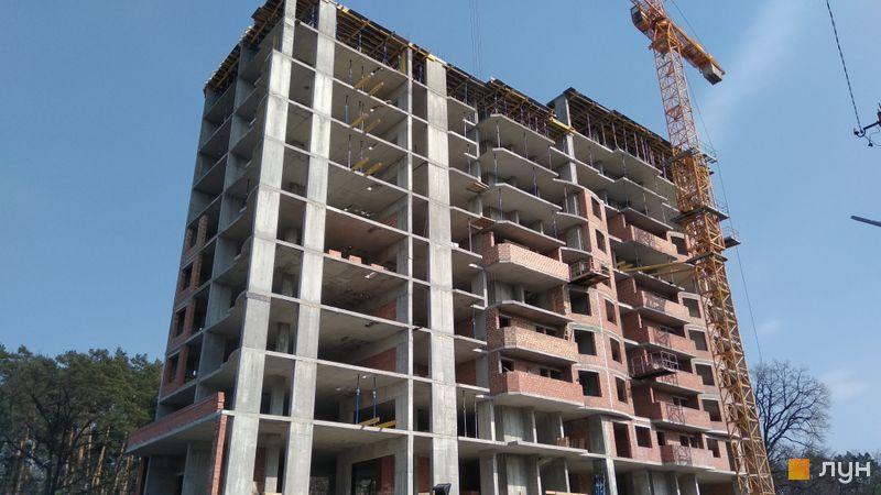 ЖК Роял парк в Ирпене ход строительства первой секции