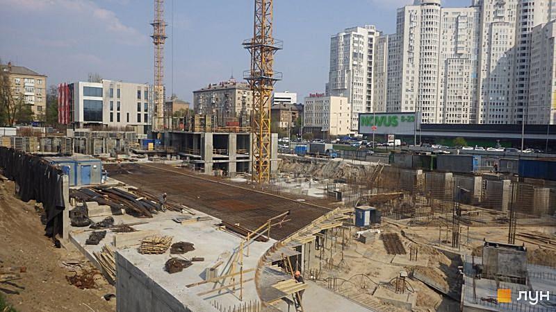 ЖК Ария от ГЕОС ход строительства