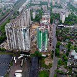 ЖК Каховская 60 от киевгорстроя вид домов