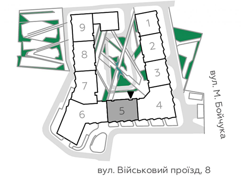 ЖК Фьйорд от ЕНСО генеральный план