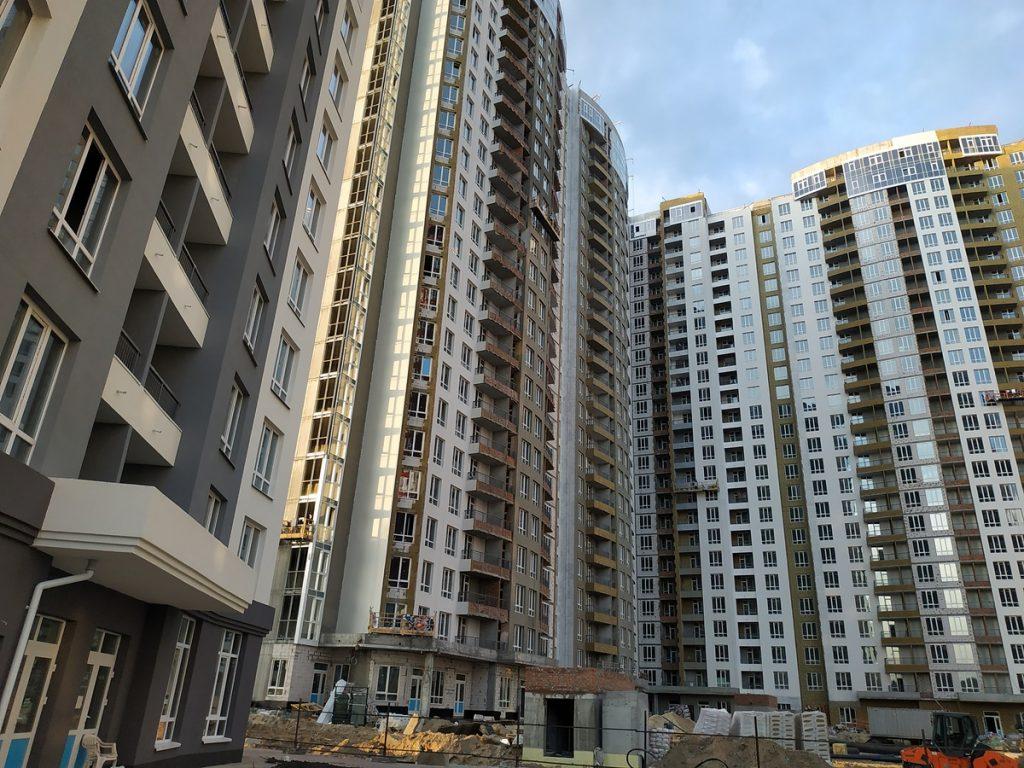 ЖК Каховская 60 от киевгорстроя ход строительства пятого дома