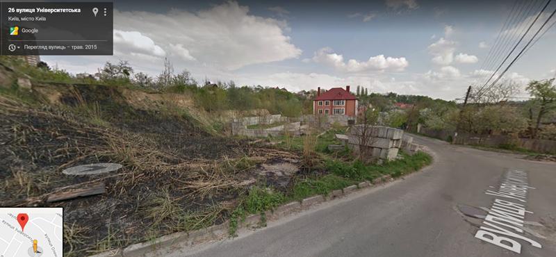 ЖК Соломенский вид места строительства 2015