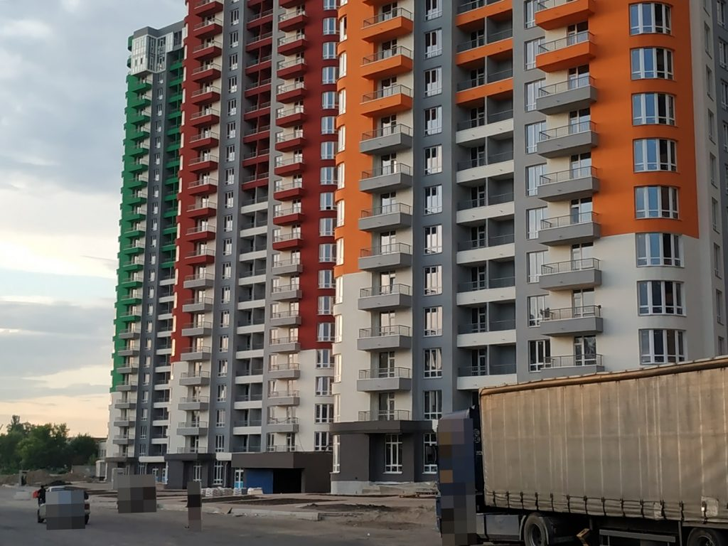 ЖК Каховская 60 от киевгорстроя сданные дома