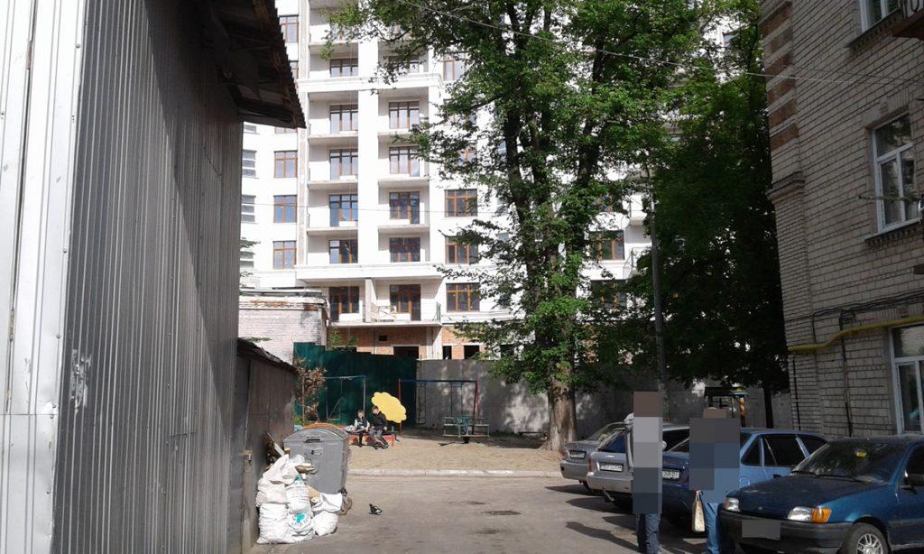 ЖК Печерск плаза 52 жемчужина вид на новостройку с Бойчука