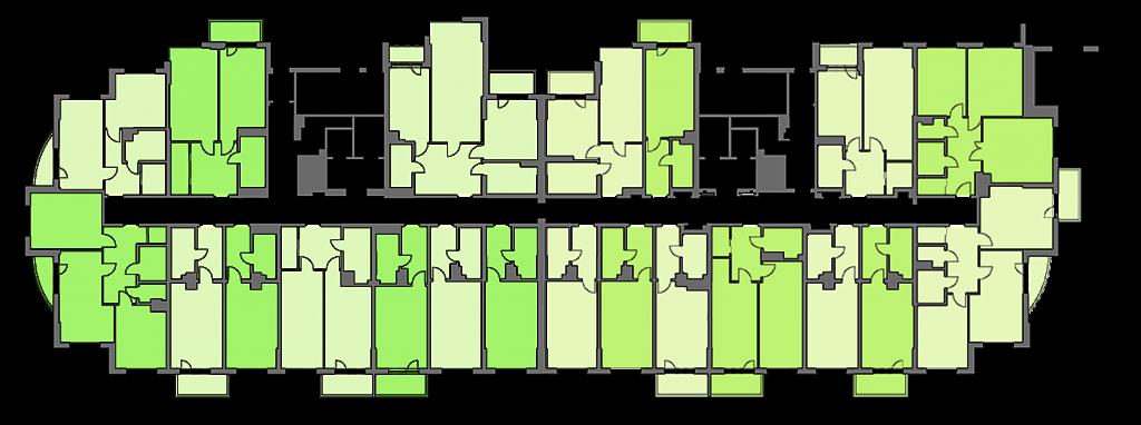 ЖК Хоум энд парк комфорт хаус план этажа