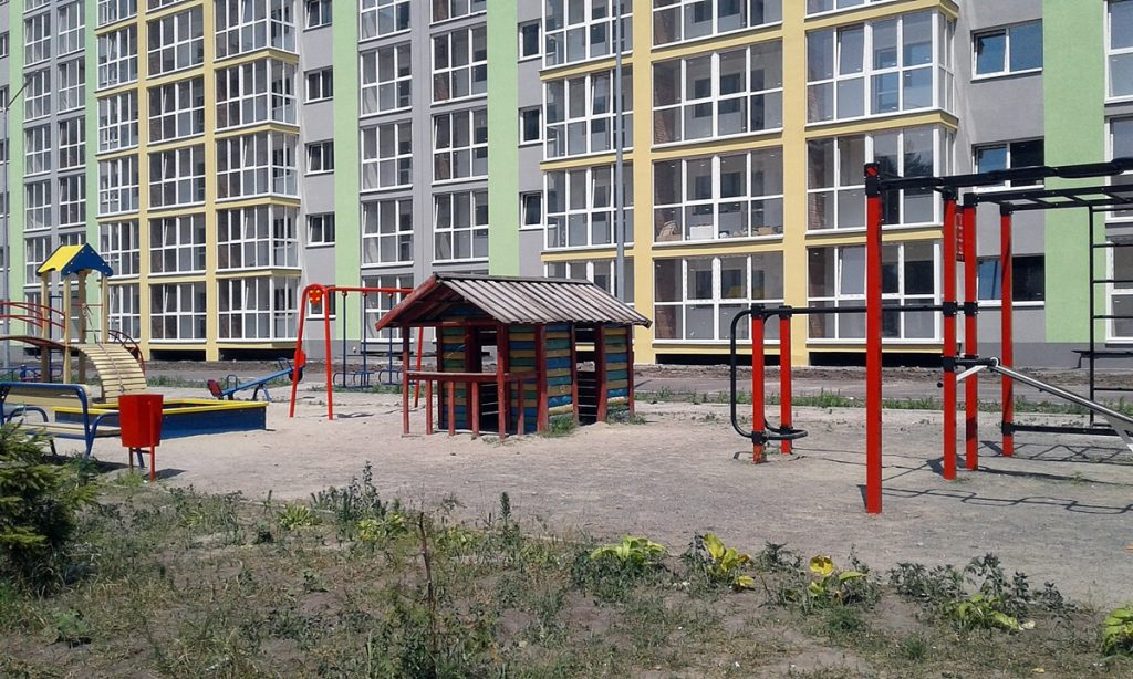 ЖК Вудстория детская площадка