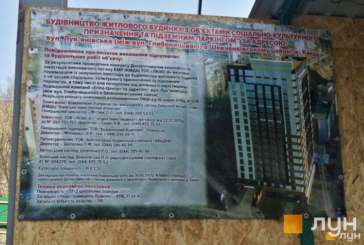 ЖК Лукьянский строительный паспорт