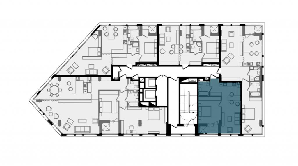 ЖК Филадельфия концепт хаус план этажа