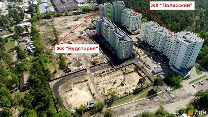 ЖК Вудстория территория