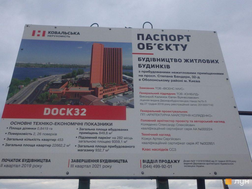 Новые проекты новостроек Киева ЖК Док 32