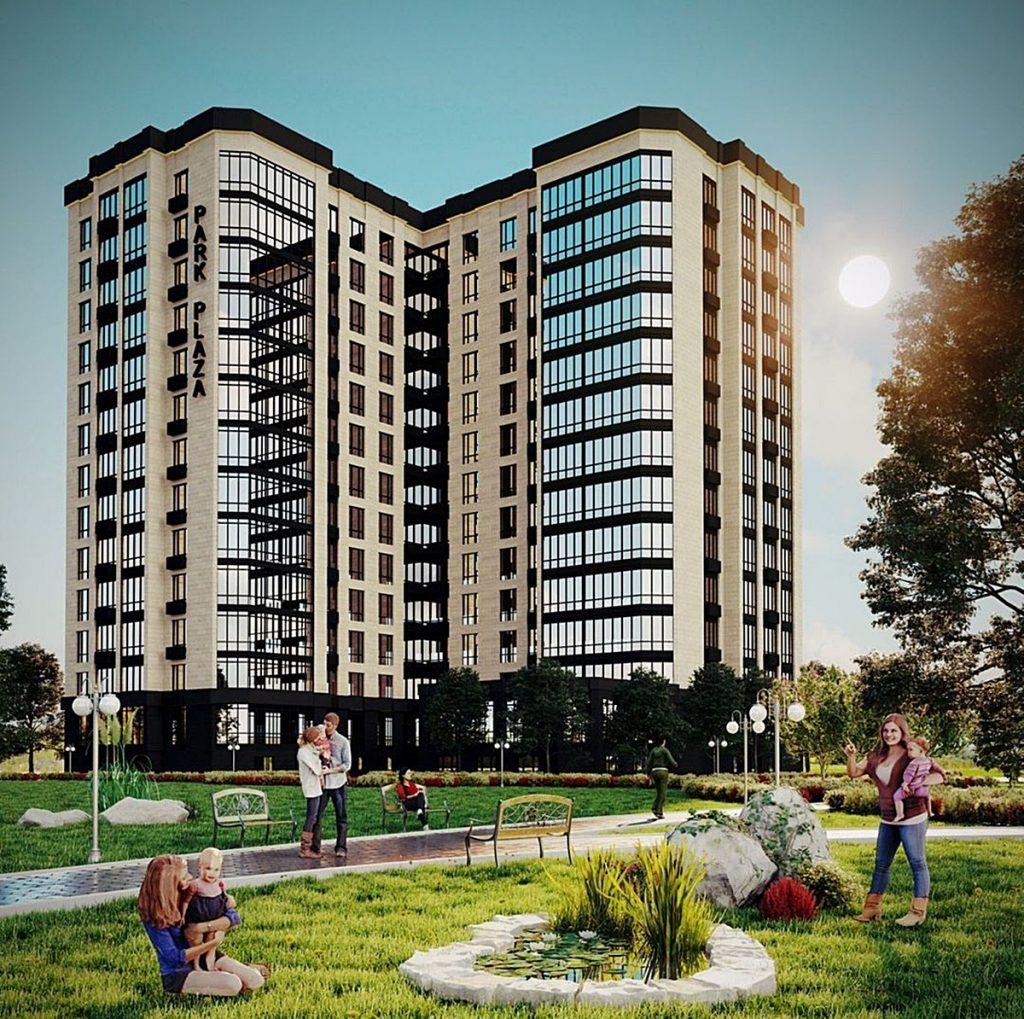 ЖК Парк плаза в Чабанах визуализация