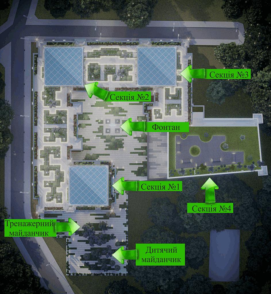 ЖК Молодежная инициатива ЖК Park Hills генеральный план проекта