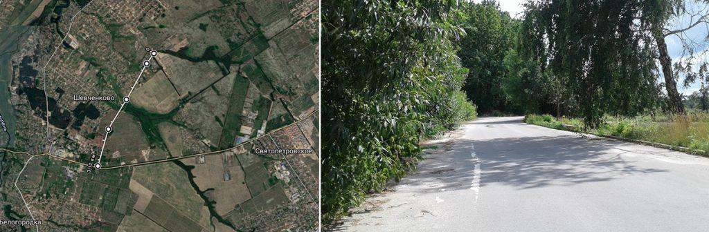 Коттеджный городок Зеленый бульвар в Бедогородке расстояние от центра