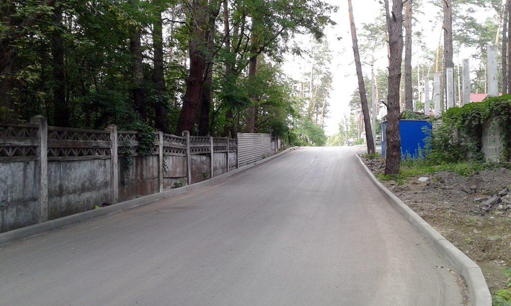 КГ Грин плейс в Ирпене дорога