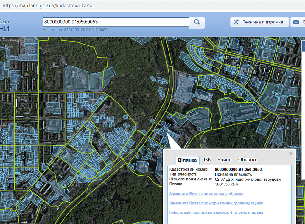 ЖК Молодежная инициатива ЖК Park Hills данные кадастровой карты