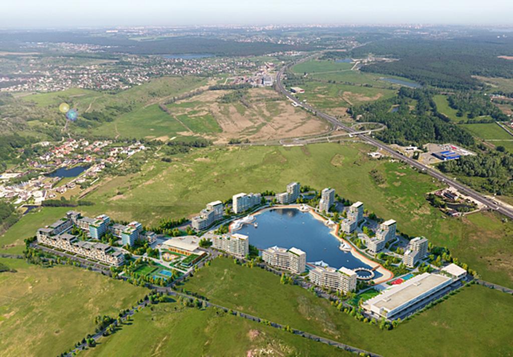 ЖК Парк лейк сити в Подгорцах старый проект