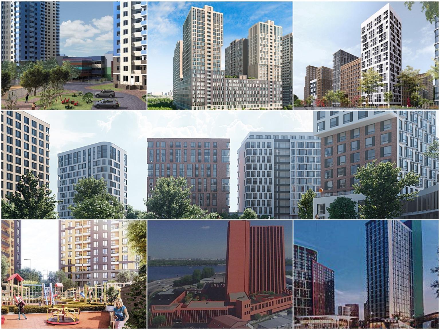 проекты новостроек киева лето 2019