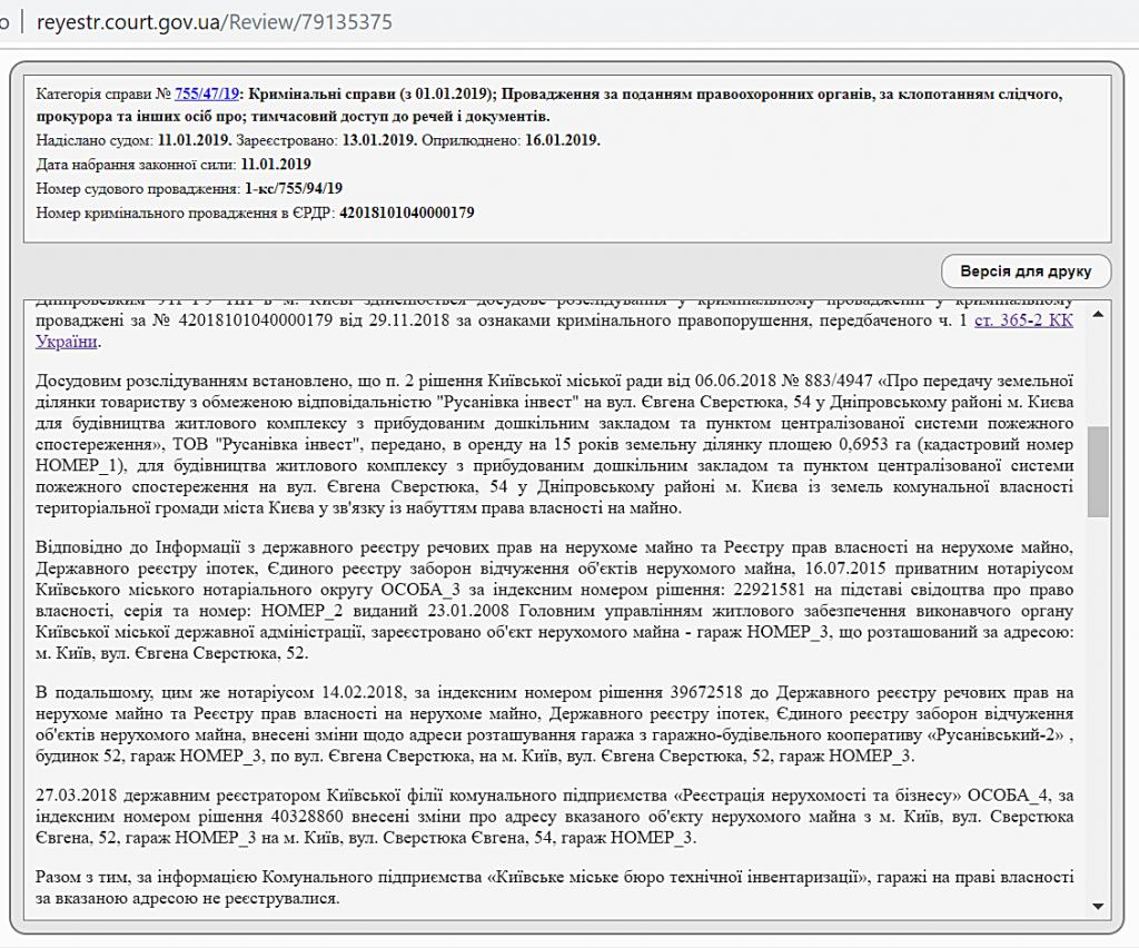 ЖК Русанив Резиденс судебные разбирательства