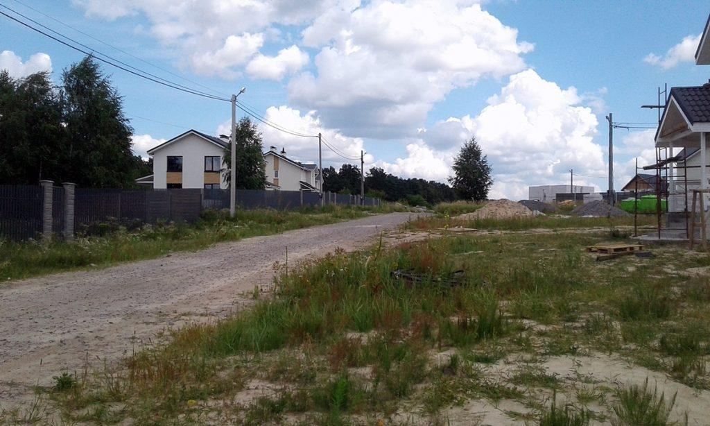 Коттеджный городок Зеленый бульвар в Бедогородке вьезд