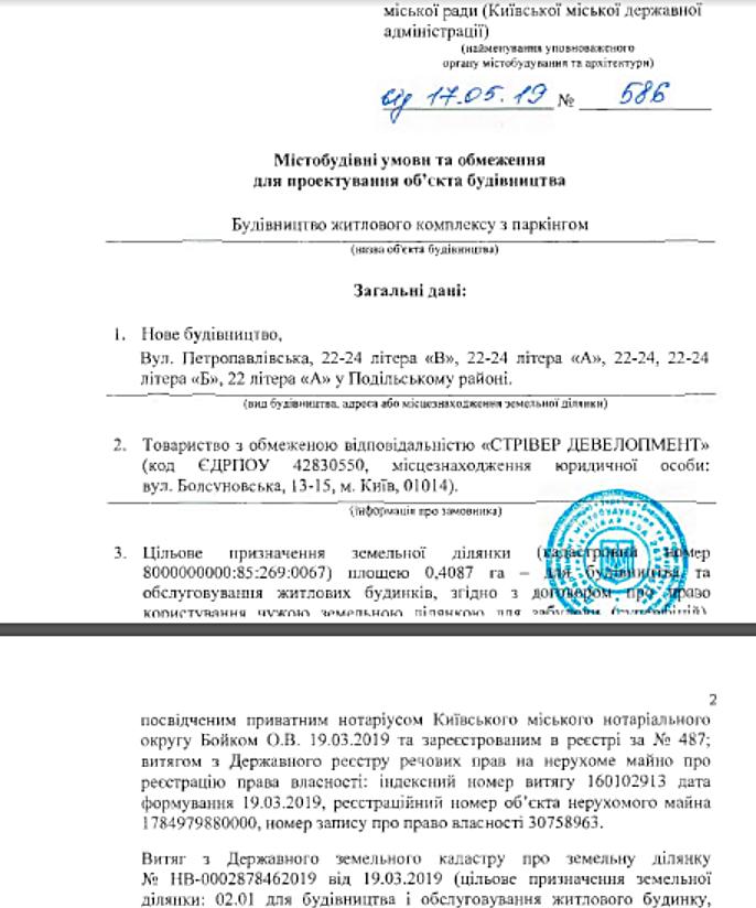 Новостройка на Петропавловской 22-24 ГУО