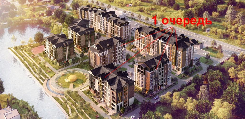 ЖК Баса Сити в Ходосовке генплан