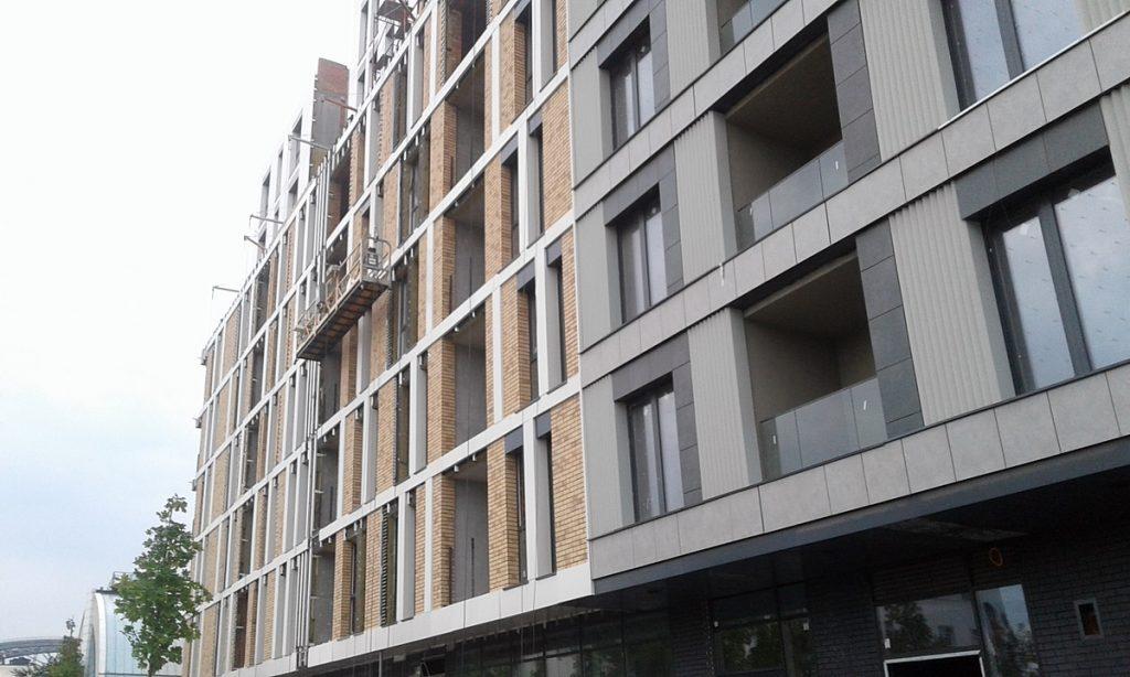 ЖК Rybalsky от Сага Девелопмент и Перфект Групп фасад