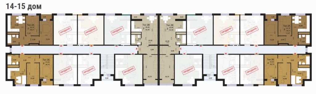 ЖК Паркленд план этажана смарт дома