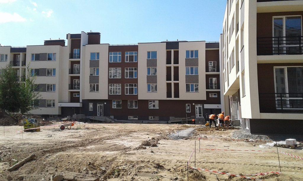 ЖК Паркленд ход строительства
