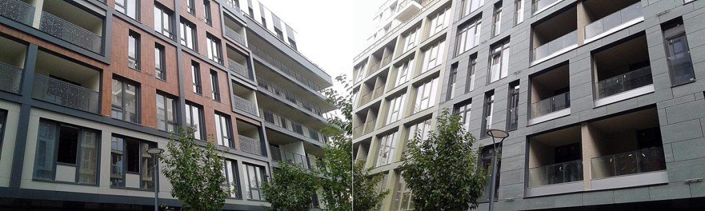 ЖК Rybalsky от Сага Девелопмент и Перфект Групп фасады