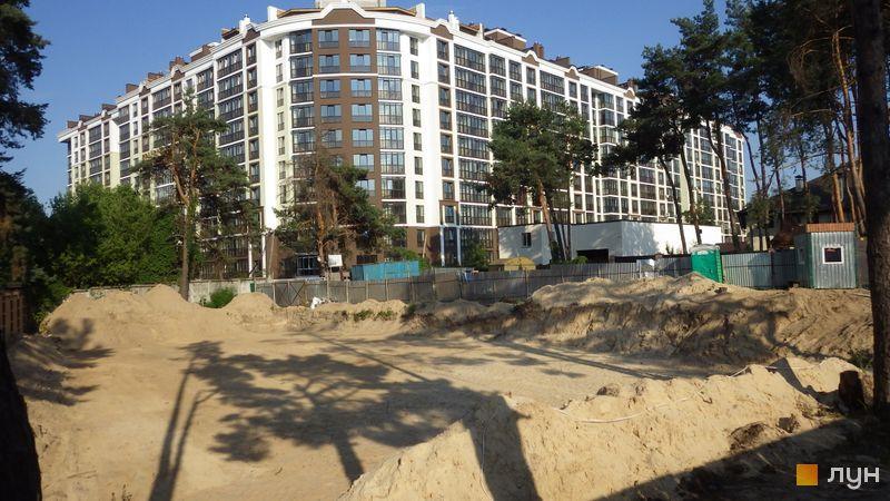 ЖК Вуд Парк в Быковне ход строительства