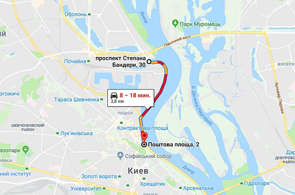 ЖК Rybalsky от Сага Девелопмент и Перфект Групп маршрут