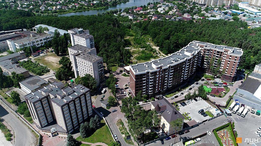 Детальный план территорий Петропавловской Борщаговки новостройки вместо леса
