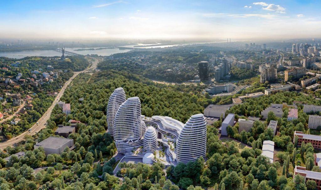 ЖК Интергал Сити визуализация комплекса