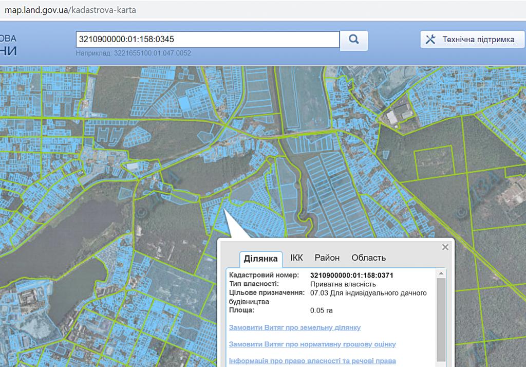 ЖК Викинг Хоум в Ирпене данные о назначении земли