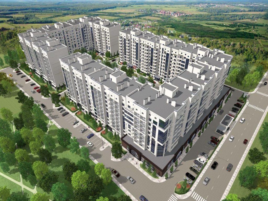 ЖК Чабаны град ЖК Пионерский квартал 2 в Чабанах визуализация