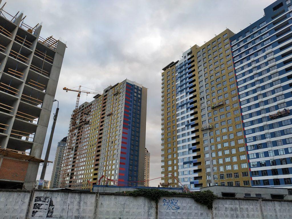 ЖК Галактика строительство домов второй очереди