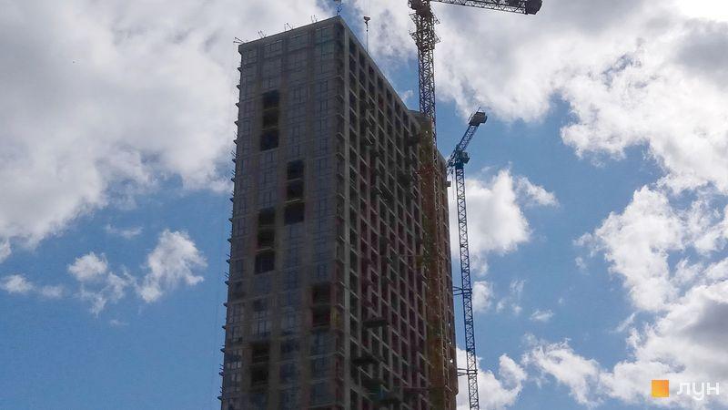 Почти построенный ЖК Гринвиль Парк ход строительства