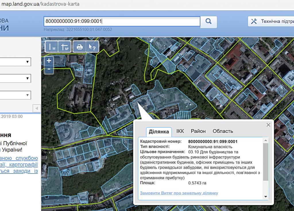 Будущая новостройка на ул Олеговская 36 данные кадастра об участке