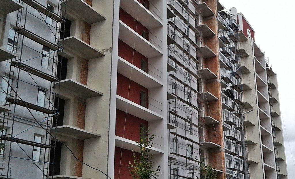 ЖК Покровский в Гостомеле ход строительства четвертого дома