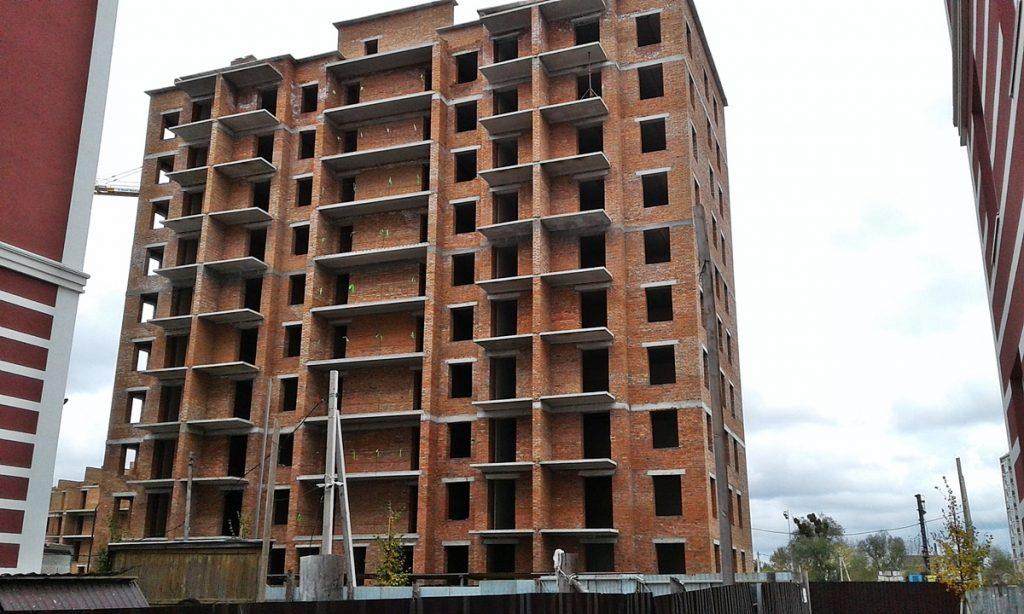 ЖК Покровский в Гостомеле ход строительства пятого дома